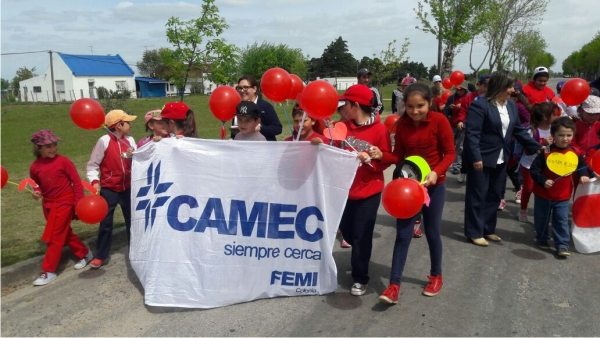 Con actividades en Colonia del Sacramento CAMEC inicia la Semana del Corazón 2017