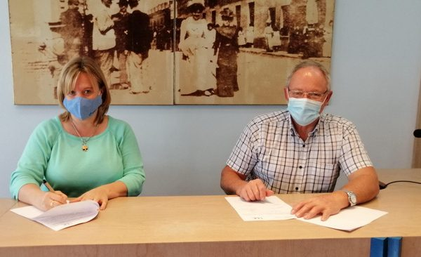Se firmó convenio de cooperación con la UDE permitiendo que estudiantes de imagenología realicen prácticas en CAMEC